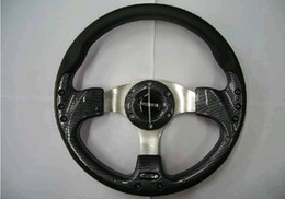"Wholesale Pu Steering Wheel - Free shipp OMP MOMO Car PU Steering Wheel Racing Steering Wheel 13"" 14"" with High Quality,No.:1008"