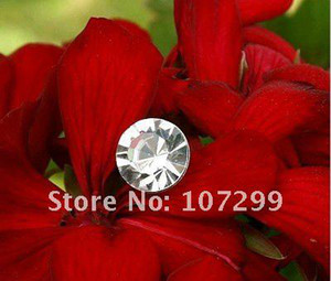 Free postage+tracking no.50pcs Clear Swarovski Rhinestone Wedding favor Bouquets Bridal Stem Jewelry