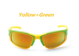 Wholesale Kids Boy Cute Cool - 2016 New Kids Polarized Glaeees Children Outdoor UV400 Sunglasses boy girls cute cool glasses 50Pcs Lot free shipping
