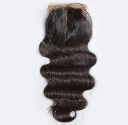 $enCountryForm.capitalKeyWord UK - Silk Base Closure Body Wave Deep Curly Loose Wave Straight Unprocessed Brazilian Indian Malaysian Peruvian Human Hair DHL Free Shipping