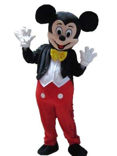 risparmi fantastici modelli alla moda seleziona per genuino Acquista Vendita Calda! 100% Cifra Reale Topolino Mascotte Costume, Mickey  Minnie Mascotte Adulta Del Vestito Operato Dal Costume Di Holloween, ...