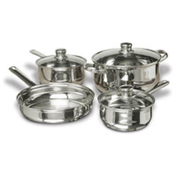 Wholesale Steel Cookware Set - CONCORD 7 PCS Stainless Steel Cookware Set. Pots Pans