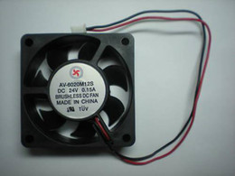 $enCountryForm.capitalKeyWord Canada - Brushless DC Cooling Fan 7 Blade 24V 6020s 60x60x20mm 2 Wires 2 Pcs Per Lot High Qulity