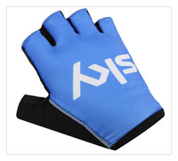 Wholesale Cycling Gloves Tour - Factory wholesale Free Shipping Tour of France Teams Edition SKY bicycle Cycling Gloves