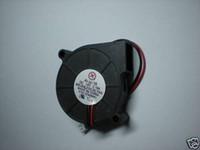ventilador de 12 v 2 hilos al por mayor-Sin escobillas DC Ventilador de Enfriamiento 5015S 12V 0.10-0.2A 50x50x15mm 2Wire 2 Unids Por Lote Venta Caliente