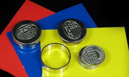 2 pcs/lot Dynamic coins -- magic trick,magic props,magic toy,magic show