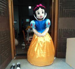 Wholesale Snow White Adult Cartoon - High quality of the mascot cartoon mascot costume Snow White mascot costume, adult size, free shipping