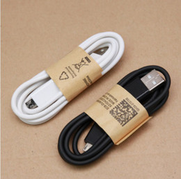 Wholesale Cheap S4 Mini - DHL shipping wholesale cheap price Micro USB Cable mini micro V8 1M 3FT data Cable charging with for Samsung s4 s6 s7