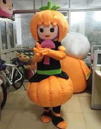 Wholesale Mascot Pumpkin - Customized Adult Size food Pumpkin Halloween Cartoon Mascot Costume EVA Clothing Walking Cartoon Doll Dress New Year Party Performing Props