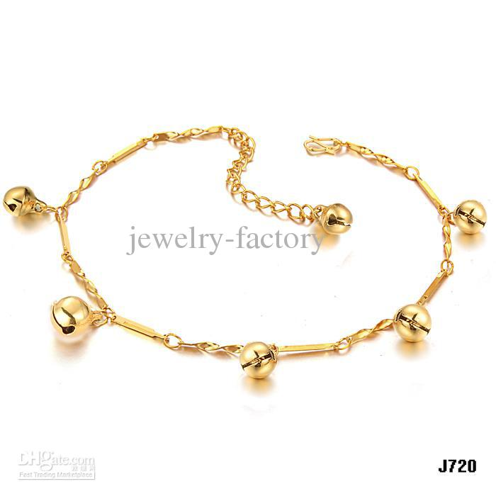 2018 Autumn Newest Design Foot Chain 18k Gold Never Fade Anklets ...