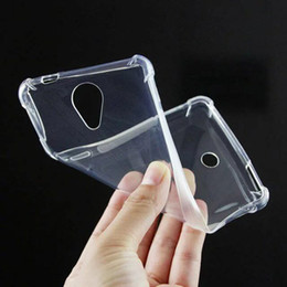 Wholesale U Clear - Anti Knock Transparent Clear Soft Cover Wiko U Feel Wiko Lenny 2 Case Silicon Gel TPU Skin Case Silicon Cover For BLU R1 HD Vivo 5