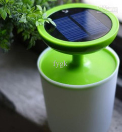Wholesale Exotic Tables - Unplug Eco Lamp,table lamp,solar light,new exotic plants photosynthetic solar lights sol