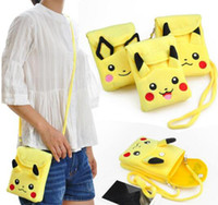 Pikachu plush wallet bag Shoulder Bag women Children kids ca...