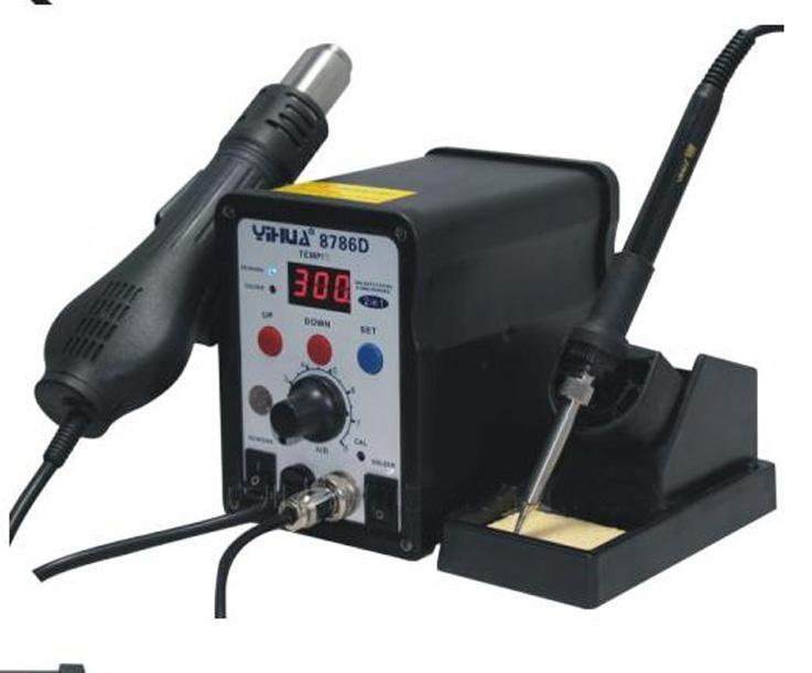 2018 b98 yh8786d digital hot air rework station hot air soldering station combo hot air station. Black Bedroom Furniture Sets. Home Design Ideas