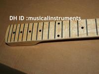 Wholesale guitars necks - Wholesale new arrival fd electric guitar Neck with Button