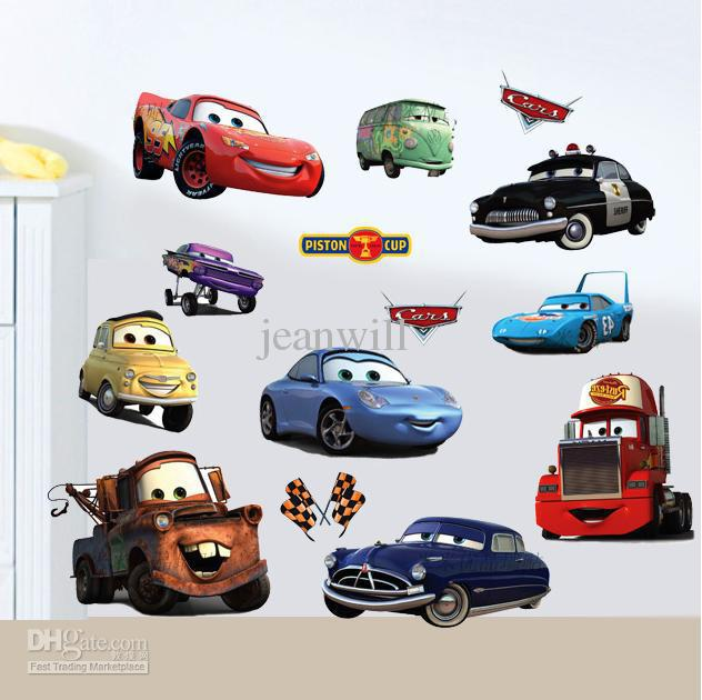 Car Wall Stickers For Boys Home Design - Wall decals cars