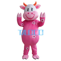 Wholesale Cow Adult Costume Character - High-quality adult size The cow Mascot Costume Adult Character Free shipping