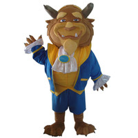 Wholesale Wild Mascots - wild beast mascot costume fancy dress Interesting clothing Animated characters for part and Holiday celebrations