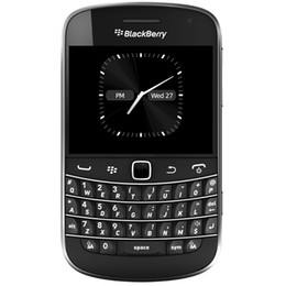Wholesale Original Mobile Cellphone - Original Refurbished Unlocked Blackberry 9900 2.8 inch 3G WCDMA QWERTY Keyboard 8GB ROM 1230mAh Bluetooth WIFI Mobile Phone