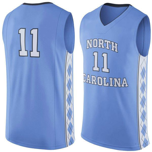 NO.11 North Carolina Tar Heels Men College Basketball Jersey Embroidery  Athletic Outdoor Apparel Mens Sport Jerseys Size S 3XL UK 2019 From  Cam1989 5d6d315dd8f9