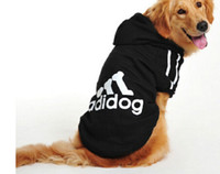 Wholesale Clothing For Dogs - Big Dog Clothes for Golden Retriever Dogs Large Size Winter Dogs coat Hoodie Apparel Clothing for dogs Sportswear 3XL-9XL