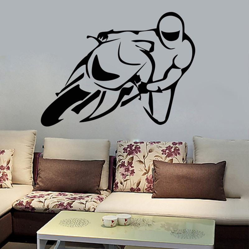 Racing Driver Wall Stickers Boys Girls Teens Racing Fan Home Decor  Wallpaper Poster Living Room Bedroom Wall Graphic Decorative Mural Art Home  Decor Decals ... Part 54