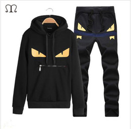 Wholesale Mens Suit Length Jacket - Mens Hoodies and Sweatshirts Sweat Suit Brand Clothing Men's Tracksuits Jackets Sportswear Sets Jogger Suits Hoodies Men