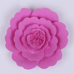 $enCountryForm.capitalKeyWord UK - Handmade Foam Paper Flower For Wedding Backdrops Party & Event Backdround Decoration Stage Deco Windows Display Different sizes