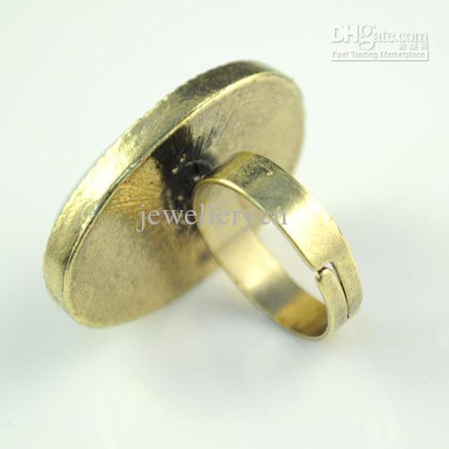 Verlobungsring | antike Pfauenfeder Design Ringe, heißer Verkauf in Sydney, Austrilia, RN-583A