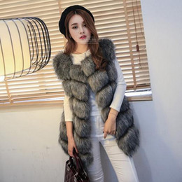 Discount Fake Faux Fur Vest | 2017 Fake Faux Fur Vest on Sale at ...