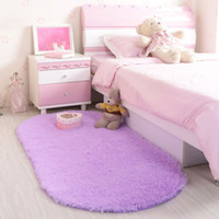 Solid pad floor - Non Slip Area Rugs for Living Room Bedroom Bedside Kitchen Kids Boys Girls Play Room Floor Mat Washable Pad Home Decoration