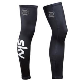 Wholesale Team Sky Pro - SKY Team Pro Bike Cycling Leg Warmers Sunscreen Summer Men Mountain Bike MTB Bicycle Cycle Leg Sleeve