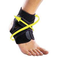 Wholesale Foot Sprains - 1pcs Badminton Sport Protective Gear Basketball Football Sprained Pressure Strap Feet Ankle Adjustable Nursing Ankle 2524003