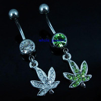 Wholesale Dangle Belly - 0390 piercing body jewelry belly ring Discount Body Piercing Jewelry Dangle (10PCS LOT) Belly Button Navel Rings