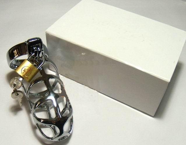 SM 자위 방지 남성 순결 장치 게이 용품. 반대로 자위 장치, 남근 자물쇠