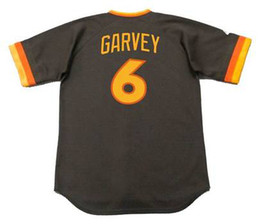 Wholesale Free Tim - 2017 Men's 6 STEVE GARVEY 9 GRAIG NETTLES 11 TIM FLANNERY 43 DAVE Throwback Jersey Stitched Free Ship