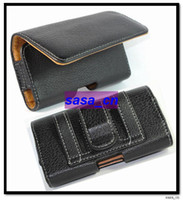 No case executive - Executive Horizontal Leather Side Case Pouch For HTC G8 G13 G15 Blackberry Torch iPod Touch