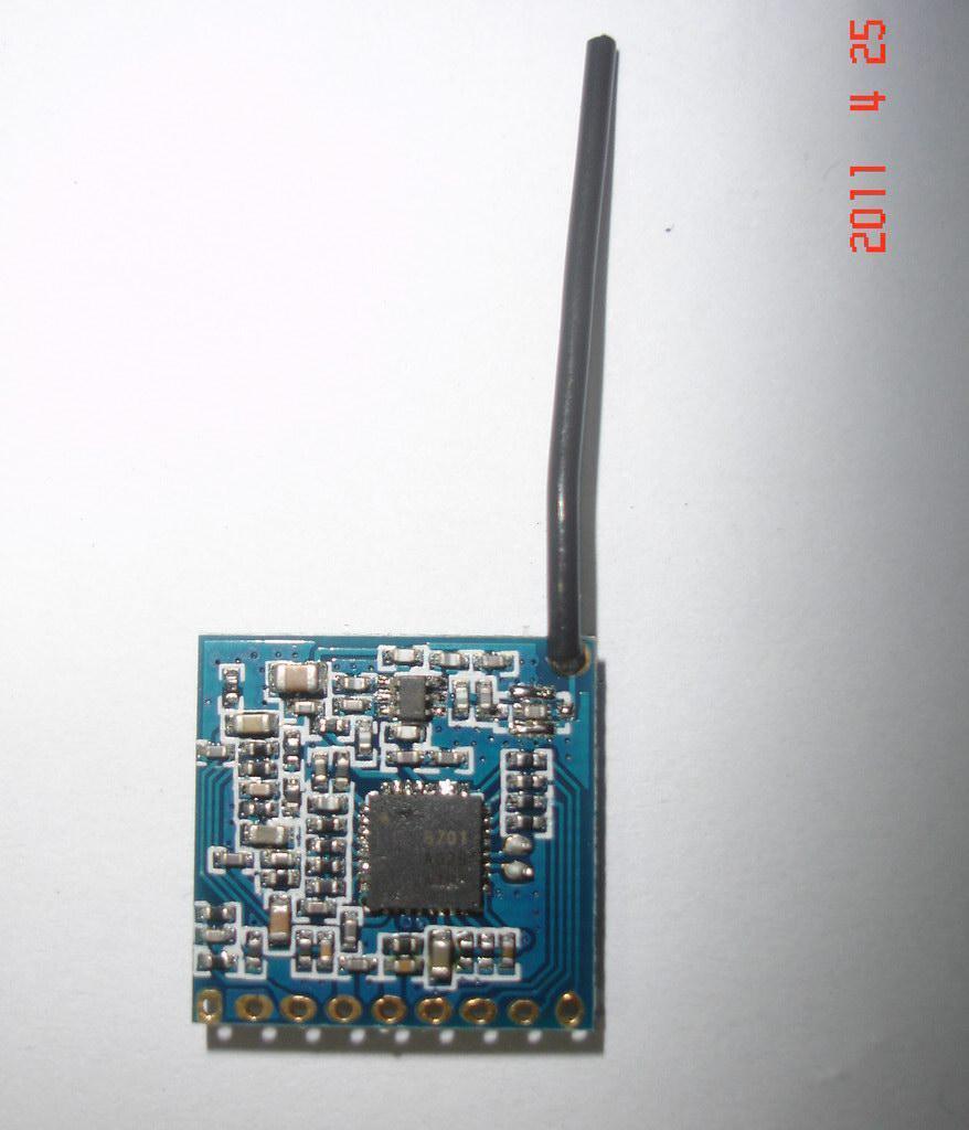200mw 2.4GHz 8 Channel Mini Wireless Transmitter AV-överföringsmodul 200m på öppen plats