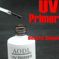 iniciador de gel uv venda por atacado-Primer UV Base Coat Soak off 15ML para Nail Art Soak-off UV LED polonês em gel de cor * 100% de alta qualidade