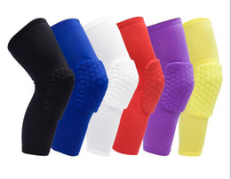 Wholesale Professional Knee Pads - 2017 PROBE breathable PRO honeycomb knee pad basketball hiking knee professional outdoor sports knee protection KW016