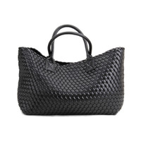 Wholesale Knitting Bag Shop - over size woman bags 2017 bag handbag fashion handbags orange Knitted bag women casual shopping basket sac femme