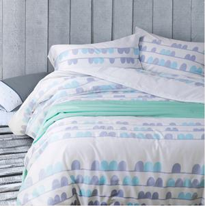 flower flat sheet bedding set four pieces per set home textile products 0.59-0.71inch bed and 0.71-0.78inch bed queyan designs