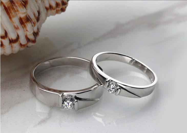 2018 Fashion Wedding Jewelry Bridal Ring Engagement Rings Swiss Diamond Couple Aa1 From Bad Boy 2998