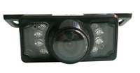 evrensel arka görüş kamerası toptan satış-E350 evrensel dikiz kamera kamera ile ölçek back-up kamera su geçirmez araba