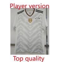 Wholesale Germany Wear - Copy player version 2017 18 Germany jersey OZIL MULLER GOTZE HUMMELS KROOS BOATENG REUS Wear jerseys thai quality jersey