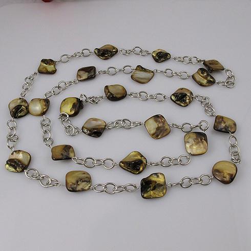 i monili speciali di disegno hanno placcato il trasporto libero 1pcs / lot A1633 della collana della catena placcata argento + delle coperture