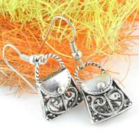 Wholesale Wholesale Fashion Jewellery Korea - Korea Jewelry - Handbag design earrings, fashion jewellery handbag pendant earring, ER-485