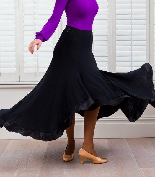 2018 customize big swing black flamenco skirts ballroom dance skirts women's ballroom skirts tango waltz skirt standard dance dresses