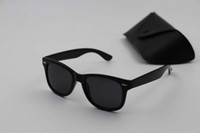Wholesale protection box online - High quality Brand Designer Fashion Men Sunglasses UV Protection Outdoor Sport Vintage Women Sunglasses Retro Eyewear With box and cases