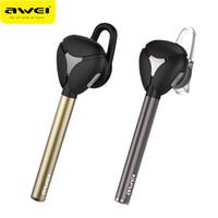 micrófono de auricular awei al por mayor-AWEI A830BL original Bluetooth 4.1 Auriculares Auriculares Deporte Auriculares Cancelación de ruido con micrófono para iPhone Samsung Smart Phone